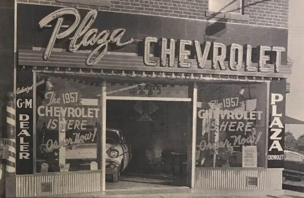 Plaza Chevrolet circa 1956