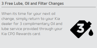 3 Free Lube, Oil and Filter Changes