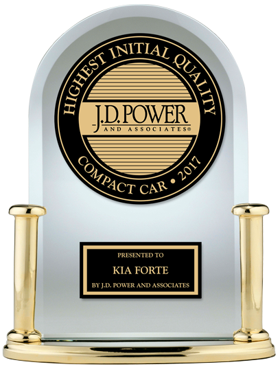 Kia Forte J.D. Power 2017 U.S. Initial Quality Study Winner