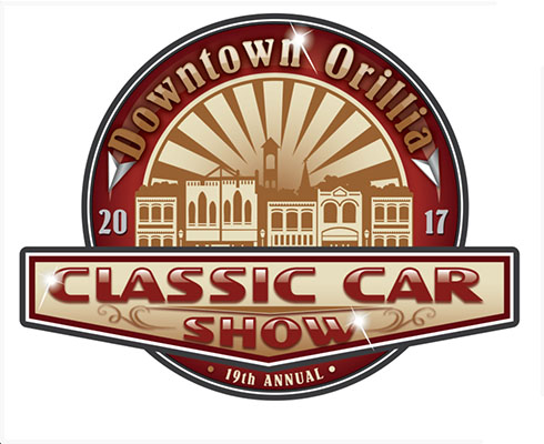 19th Annual Orillia Downtown Classic Car Show, Saturday, August 19, 2017