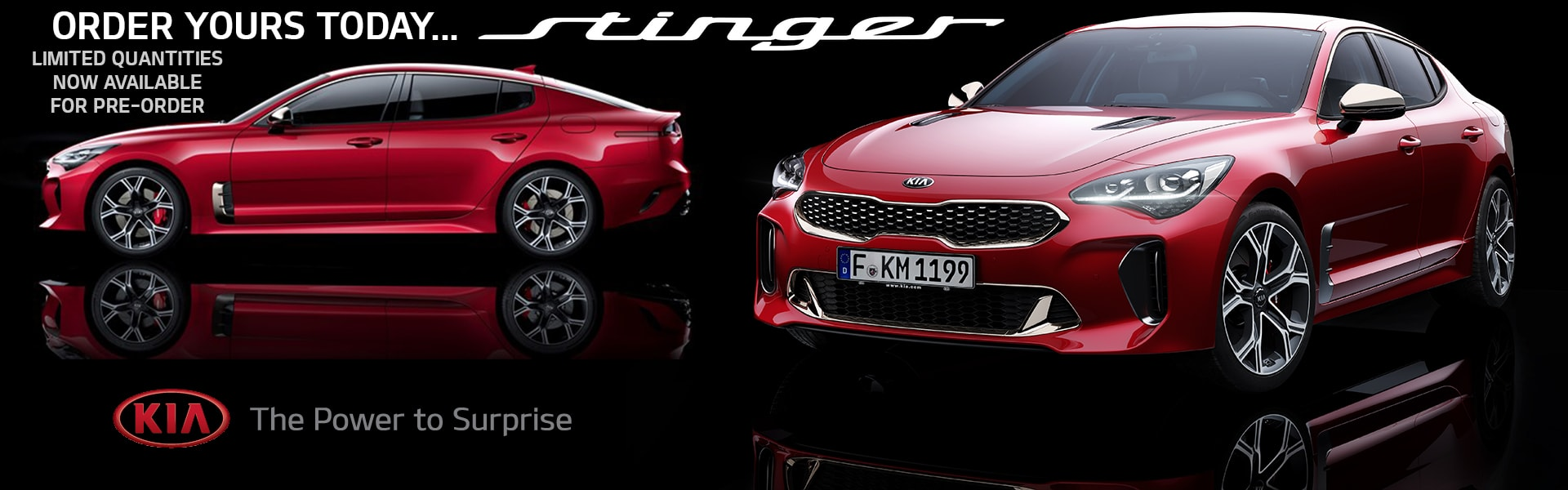 2018 Kia Stinger Now Available For Pre-Order