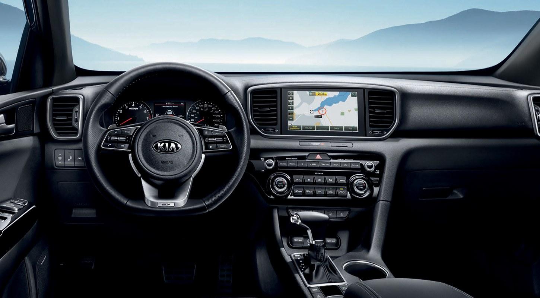 2020 Kia Sportage Interior