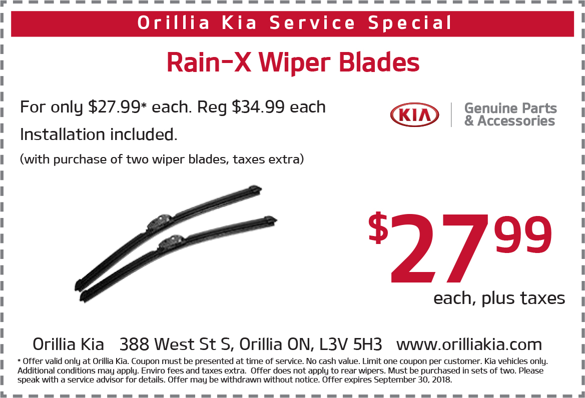 Rain-X Wiper Blade Sale