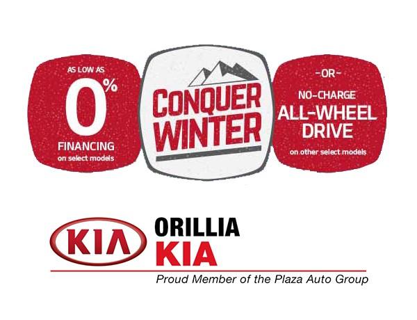 Kia Conquer Winter Sales Event