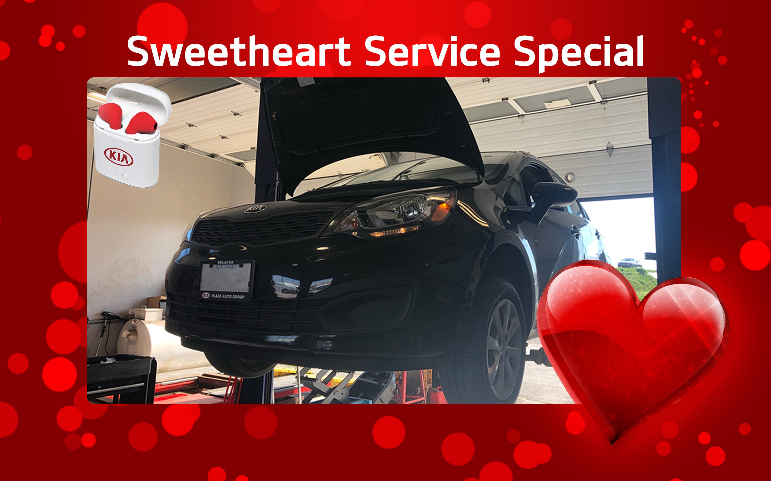 Sweetheart Service Special