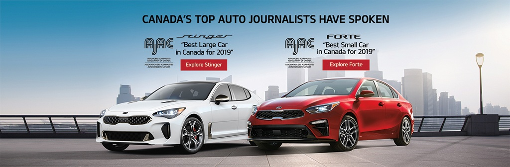 Automobile Journalists Association of Canada Award Winners