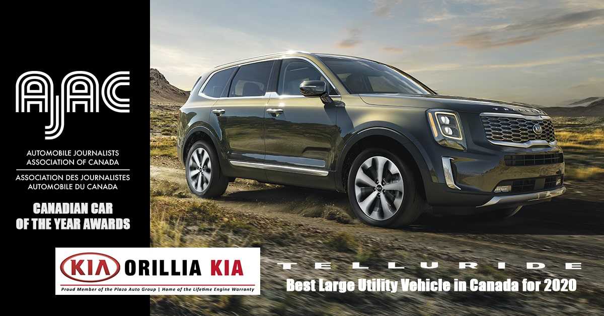 2020 Kia Telluride Best Large Utility Vehicle In Canada For 2020