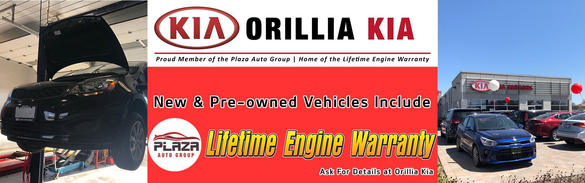 Orillia Kia Lifetime Engine Warranty