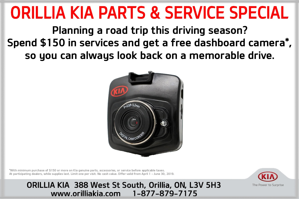 Free Dashcam With Service