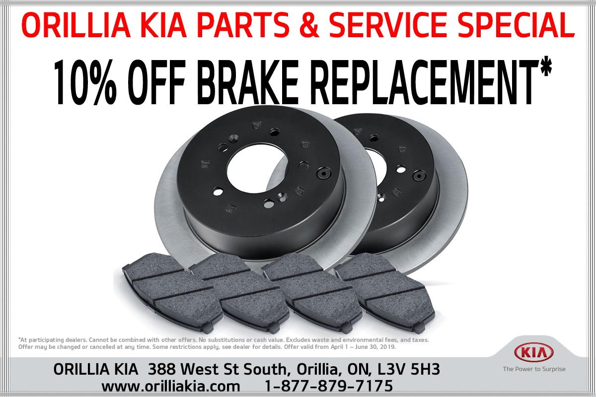 10% OFF BRAKE REPLACEMENT*