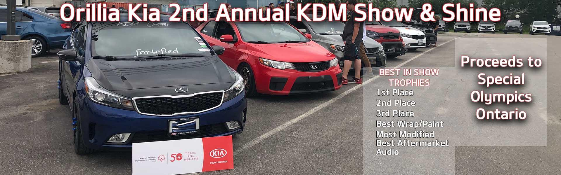 Orillia Kia 2nd Annual KDM Show & Shine