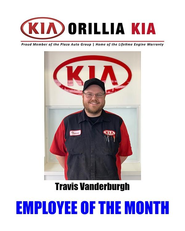 Travis Vanderburgh - Employee of the Month June 2019